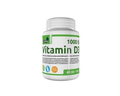 Naturprodukt Vitamin D3 1000 IU tbl.60