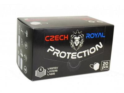 Respirátor FFP2 české výroby - balení 20ks.